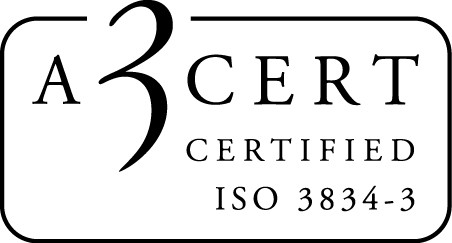 A3CERTIFIED ISO 3834-3